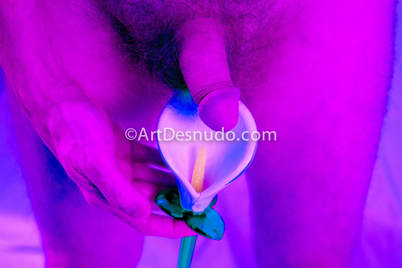 Mixed media: Nude photograph and digital painting. Técnica mixta: Fotografía de desnudo y pintura digital.