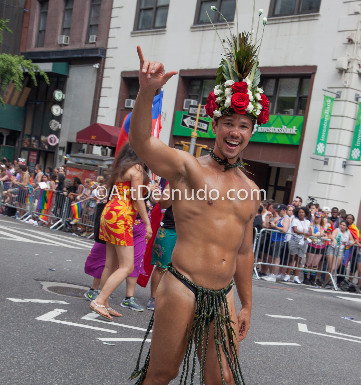 Sunday, June 25, 2017. 48th NYC (LGBTQ) Pride March.   Photo by ArtDesnudo.com