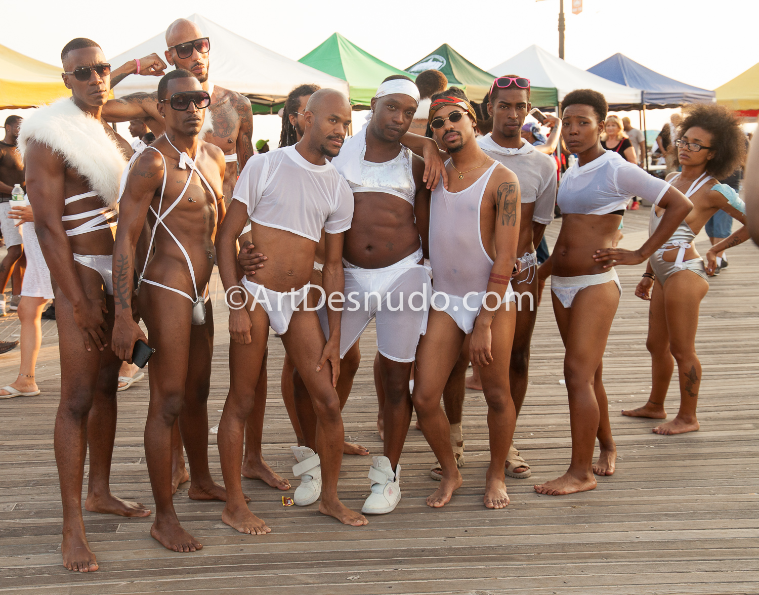 August 2017. Coney Island. Brooklyn, NYC – Pride at the Beach. NYC Black Pride.  Photo by ArtDesnudo.com