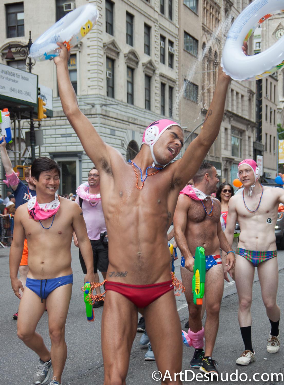 June 2015. Manhattan, New York City – NYC Lesbian, Gay, Bisexual, Trans, Queer Pride March.  Junio, 2015. Manhattan, Ciudad de Nueva York - Marcha del orgullo Lesbico, homosexual, Bisexual, Transgénero, Queer.