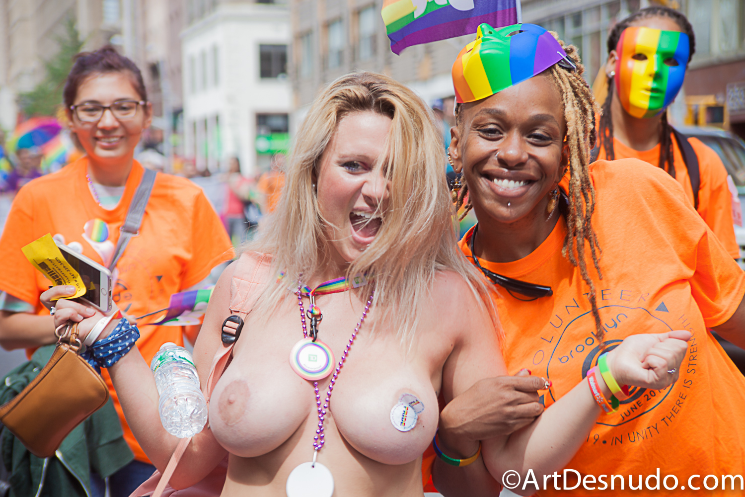 June 2015. Manhattan, New York City – NYC (LGBTQ) Pride March.