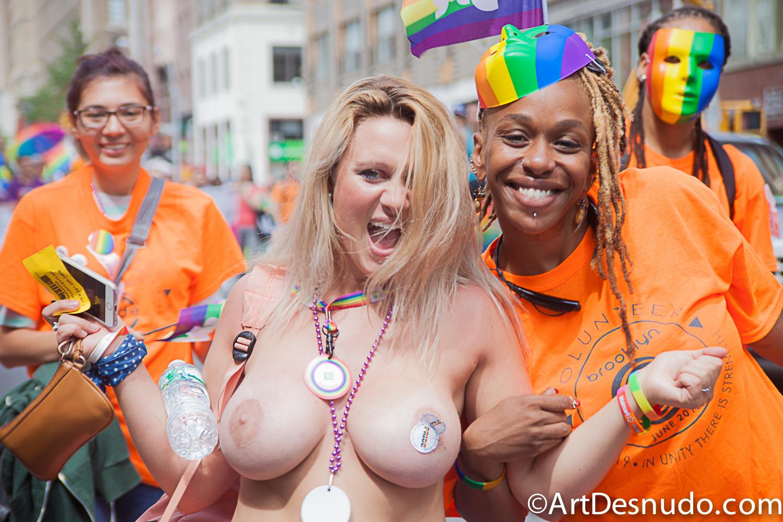 June 2015. Manhattan, New York City – NYC (LGBTQ) Pride March.