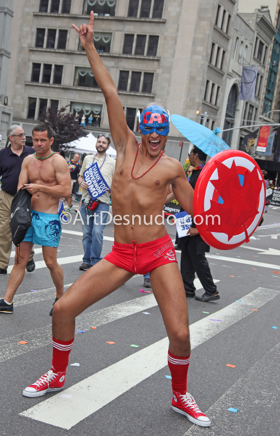 June 2011. Manhattan, New York City – NYC LGBTQ Pride March.