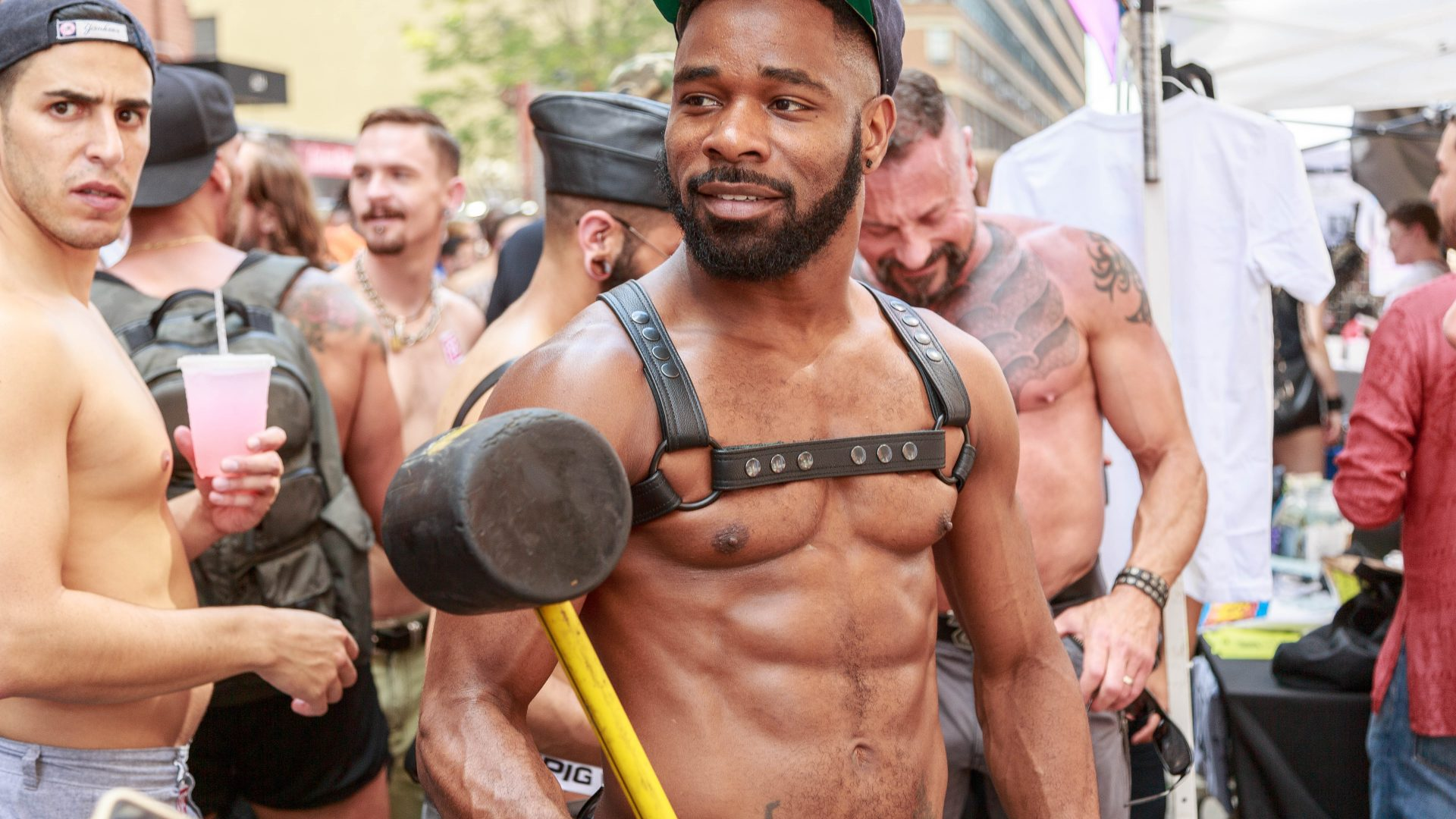NYC Folsom Street East Festival 2015. Photo by Atomische. Tom Giebel.