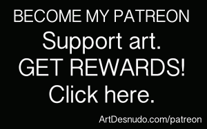 Support nude art. Become my Patreon.