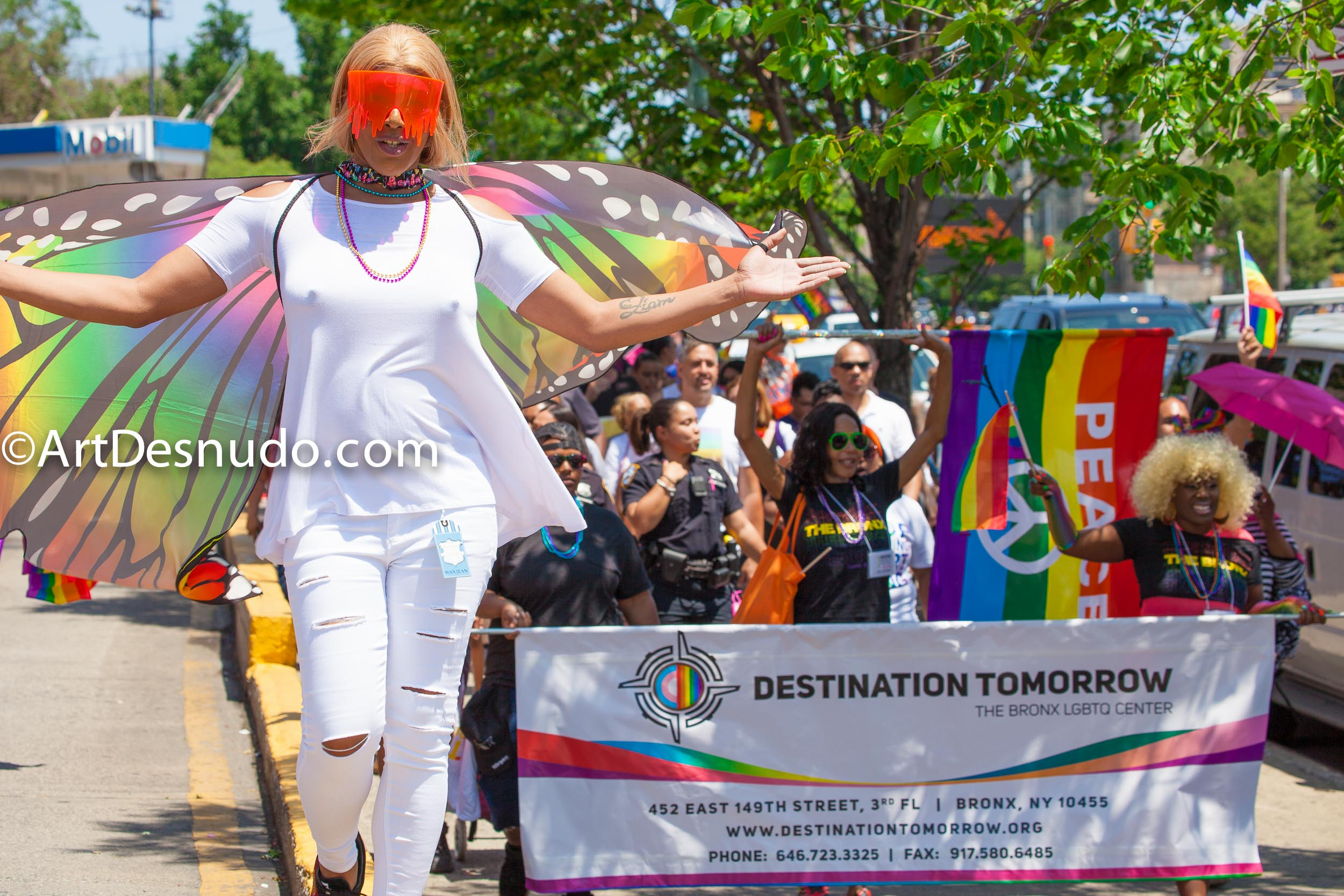 "New York City – The 1 Bronx World Pride Rally, March and Festival was on Sunday, June 23, 2019. People celebrated Bronx World Pride, Pride Month and the 50th anniversary of the Stonewall Rebellion. Organizers said: ""The 1 Bronx World Pride promotes inclusion, community, and dialogue and works toward a future without discrimination where all people have equal rights under the law. We do this by producing Pride events that inspire, educate, and celebrate our diverse Bronx community. The 1 Bronx World Pride Rally, March and Festival brings together over 20,000 Bronxites working toward a more inclusive future for our community."""