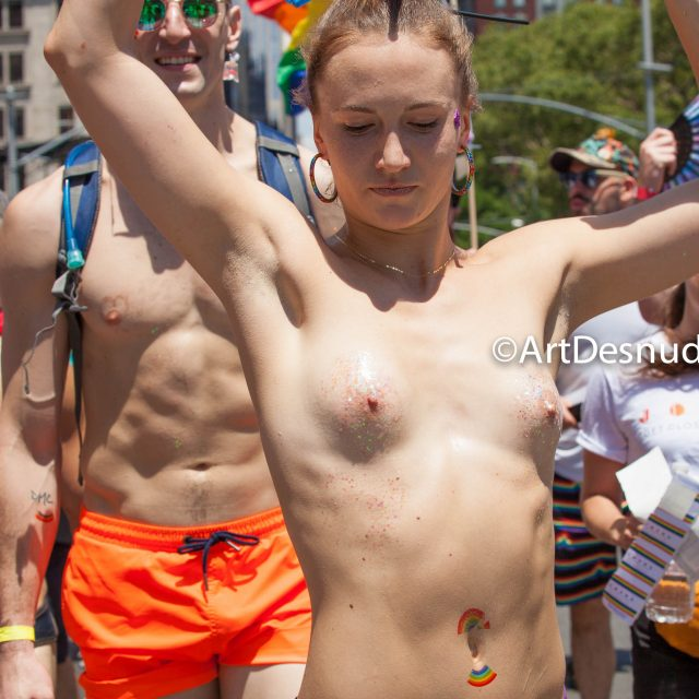The NYC Pride March was on Sunday, June 30th, 2019. NYC Pride March is the largest LGBTQ celebration in the world. The 50th anniversary of the Stonewall Rebellion was on Friday, June 28th, 2019. This year, for the first time WorldPride was held in the United States of America. Thousands of people marched and thousands of people came to watch the march.