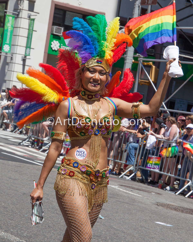Sunday, June 25, 2017. 48th NYC (LGBTQ) Pride March. Photo by ArtDesnudo.com