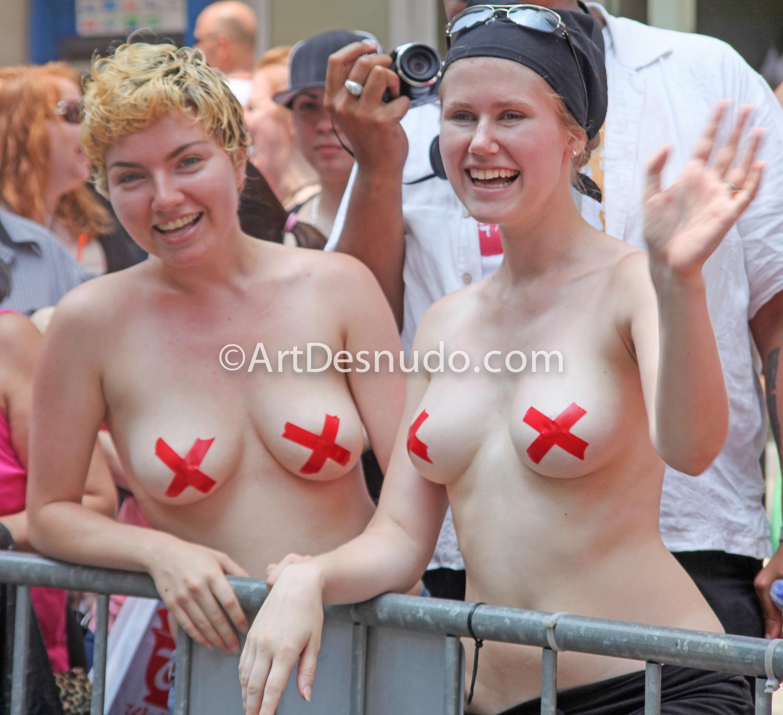 June 2010. Manhattan, New York City – NYC LGBTQ Pride March.