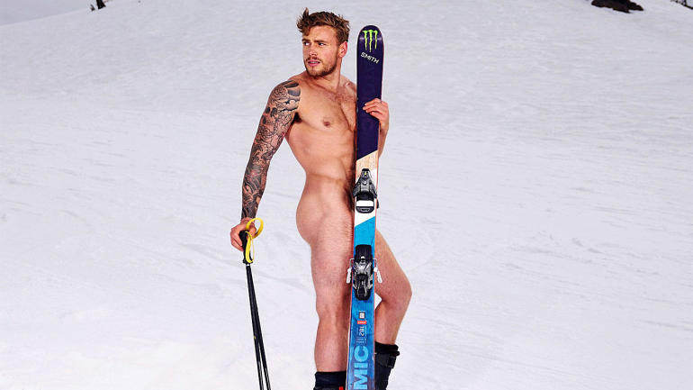 Athlete Gus Kenworthy. (Photographed by Benjamin Lowy for ESPN Body Issue 2017)