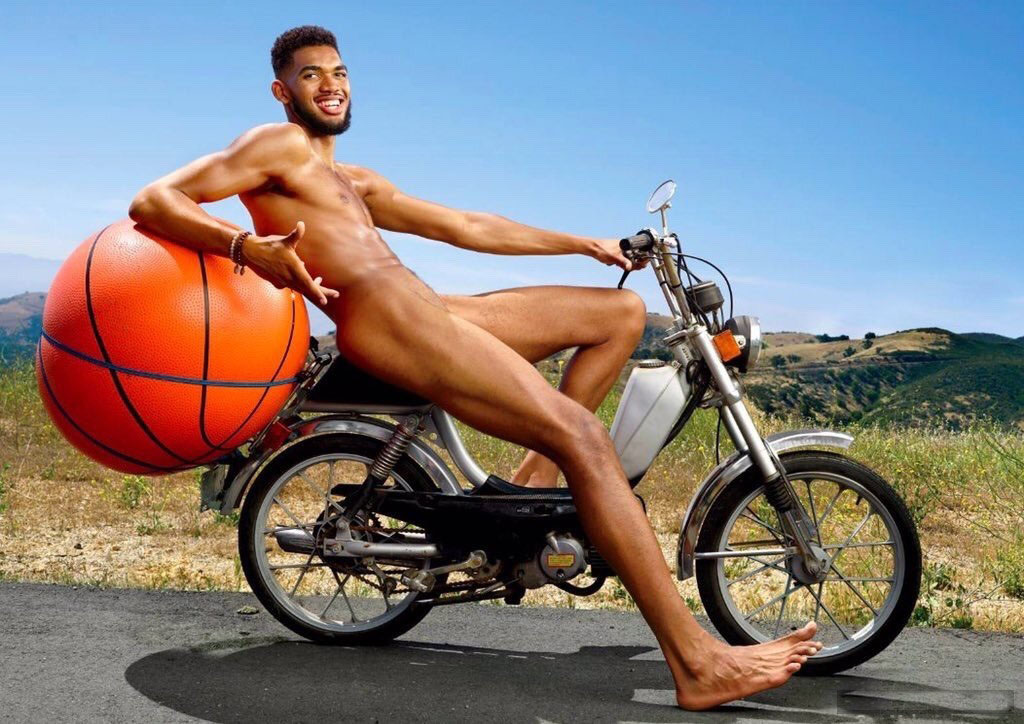 Athlete Karl-Anthony Towns. (ESPN The Magazine/Photo by Eric Lutzens)
