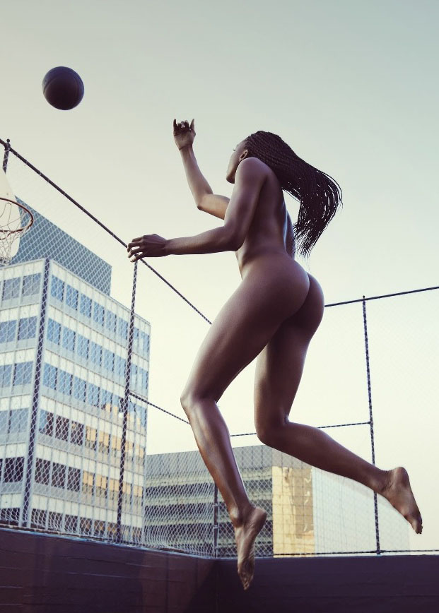 Athlete Nneka Ogwumike. (Mark Williams + Sara Hirakawa For Espn)