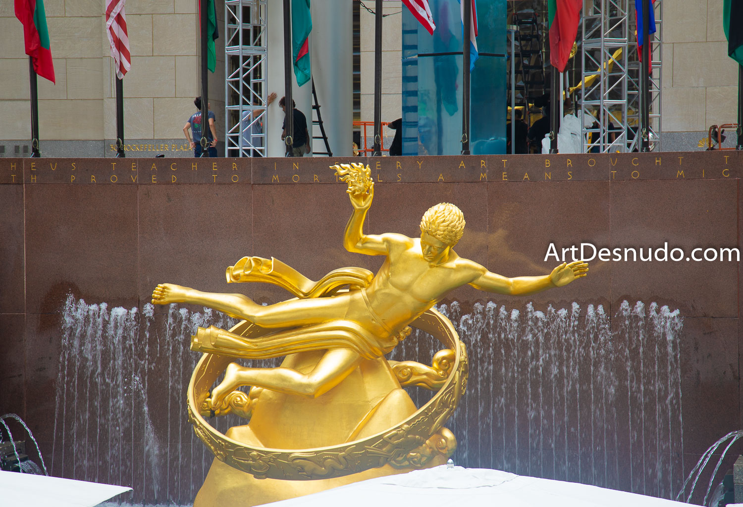 Wednesday, September 4, 2019 - Prometheus. Rockefeller Center. Manhattan, New York City.