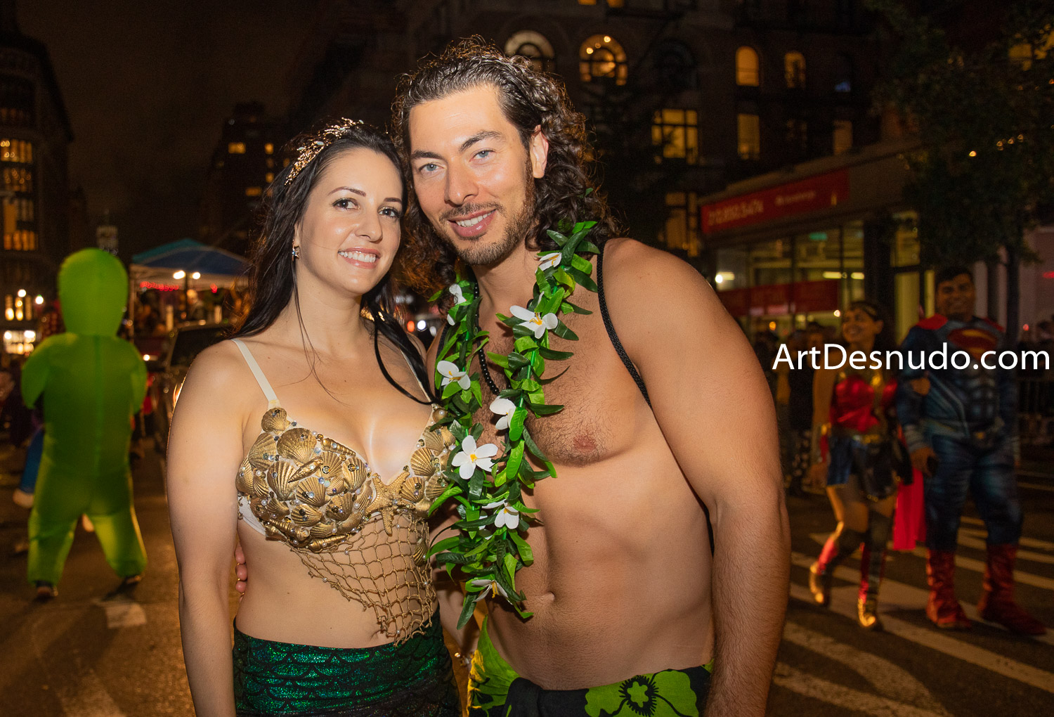 Thursday, October 31, 2019. Manhattan, New York City - 46th Annual New York City Halloween Parade.