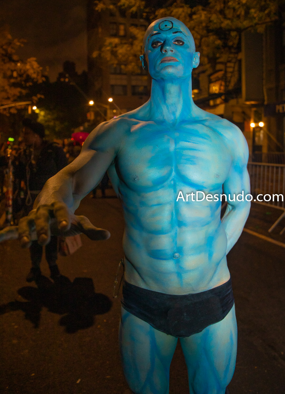 Thursday, October 31, 2019. Manhattan, New York City - 46th Annual New York City Halloween Parade.